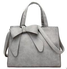 Buy 2018 Women Elegant Soft Totes Bags Bowknot Bag Single Shoulder Bag  Female Handbag at Home - Design   Decor Shopping 8ac40c09ba309
