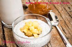 Budinca de chia cu sos da mango si ananas Chia, Manga, My Recipes, Manga Anime, Manga Comics, Manga Art