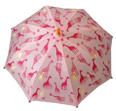 Amazon.com: Hatley Girls Zoo Animals Kids' Umbrella: Clothing