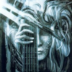 Atomic Playboys by H.R Giger