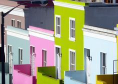 bo-kaap, south africa. Such a colourful place!