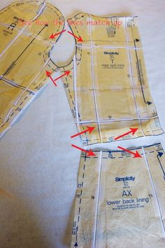 Grading a Vintage Pattern to a Larger Size - from A Fashionable Stitch