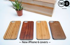 Now available in our webshop! New iPhone 6 covers in Zebrano, Sapeli, Bamboo and Walnut.  You can buy them here: http://two-o.com/houten-gadgets/houten-hoesjes/houten-iphone-hoesjes/vol-bamboe-houten-iphone-cover-6-234