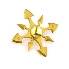 Fidget Spinner Hand Spinner Spinning Top Toys Toys Ring Spinner Gear Spinner Metal EDC Stress and Anxiety Relief Novelty
