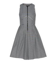Cue - Product Details - Splice Stripe Dress $219