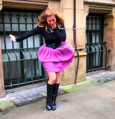 windy spring pink skirt andra dorolti