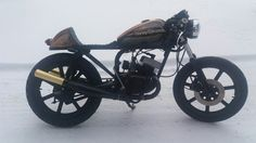 Rd 125 1981 caferacer