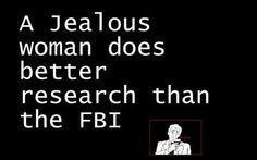 And a jealous woman's best friend does more damage than the mafia...