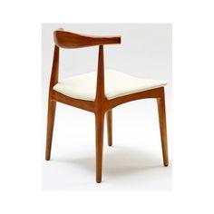 silla madera nogal curvada | Tiendas On