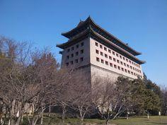 北京、明北京城城壁遺存・東便門段