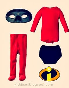 The Incredibles DIY Halloween Costume