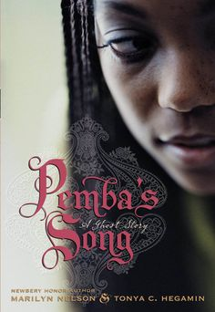 Pemba's Song: A Ghost Story, by  Marilyn Nelson and Tonya C. Hegamin  | City-born Pemba, now living in a haunted house in New England, is visited by the ghost of an 18th century slave-girl-poet. | https://www.goodreads.com/book/show/3339301-pemba-s-song