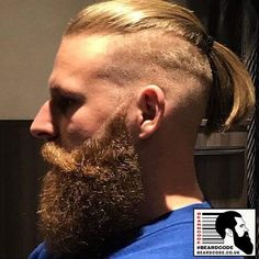 The top short hairstyles for men for the year 2018 are eye-catching and somewhat sophisticated. Forget about the one-length and monotone haircuts that guys liked to rock a couple of years ago. Today the short mens hairstyles have become particularly. Trending Hairstyles For Men, Cool Hairstyles For Men, Haircuts For Men, Beard And Mustache Styles, Hair And Beard Styles, Hair Styles, Great Beards, Awesome Beards, Viking Haircut
