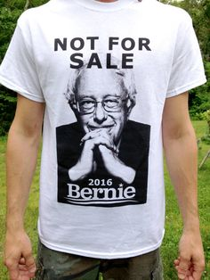 Not For Sale  Bernie Sanders 2016 Campaign by EightyEightBags