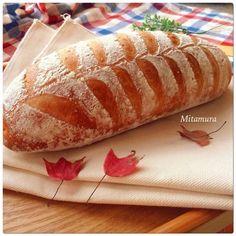葉形鄉村麵包(天然酵母)