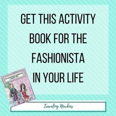 Do you have a fashionista in your life? She will love this lookbook diary by Dana Lardner!
