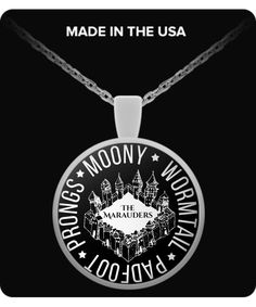 Jewelry - The Marauders - Necklace Harry Potter Jewelry, Harry Potter Outfits, Harry Potter Universal, Cursed Child, Mischief Managed, The Marauders, Ravenclaw, Fantastic Beasts, Hogwarts