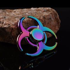 Alloy Rainbow Fidget Spinner