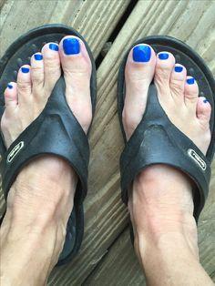 Men Nail Polish, Toe Polish, Pretty Toe Nails, Pretty Toes, Polished Toes, Mens Nails, Mom In Law, Painted Toes, Carmel By The Sea