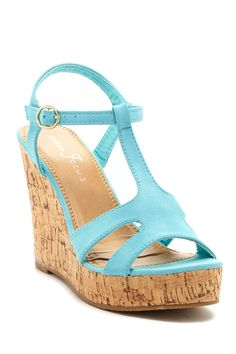 Fashion Focus Jenny Strappy Wedge Sandal by Fashion Focus on @nordstrom_rack