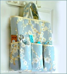 Stitch this Project Organizer Bag  A Free Sewing Tutorial from Torie Jayne