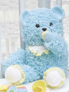 Baby Bear - free crochet pattern