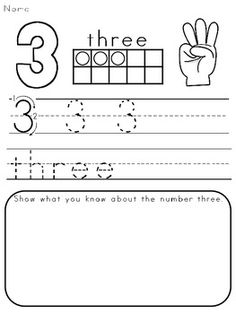 Numbers Printables: Counting & Cardinality Practice for Kindergarten Kindergarten Math Activities, Counting Activities, Homeschool Math, Math Resources, Teaching Math, Maths, Numbers Preschool, Math Numbers, Transitional Kindergarten
