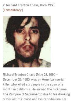 richard chase serial killer