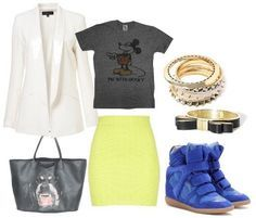 outfit about Isabel Marant shoes