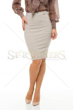 PrettyGirl Routine Grey Skirt