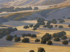 California Gold 9x12, painting by artist George Lockwood