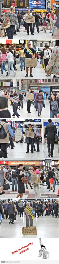 Faith in Humanity Restored!