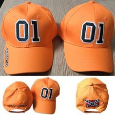 Duke's of Hazard General Lee Hat