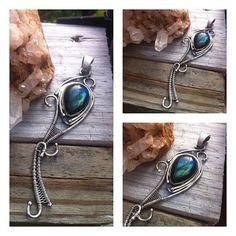 Labradorite Hybrid Sterling SIlver Pendant by Gypsy Peacock Jewelry   https://www.etsy.com/listing/122332713/labradorite-hybrid-sterling-silver?ref=pr_shop    contemporary metal jewelry/artisan jewelry/silversmith jewelry