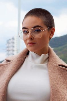 18 Chic Short Haircuts Ideas for Trendy Women ★ Buzz Cut Hairstyle Ideas Picture 3 ★ See more: http://glaminati.com/short-haircuts/ #shorthaircuts #shorthairstyles