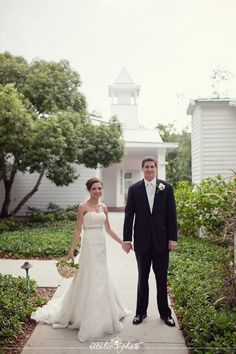 Bride groom and chapel #vitalicphoto