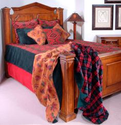 Give your bedroom some ooomph with this Navajo Wind Microplush Bed Set. Earthly colors in soft fabric materials.