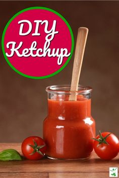 The king of condiments in the Western world is ketchup. Homemade ketchup not only has an amazing flavor but it is good for you. This lightly fermented DIY ketchup recipe with a video is must have for you and your family. #ketchup #condiments #sauce #recipe #video #viedeohowto #howtomakeketchup #homemadeketchup #thehealthyhomeeconomist