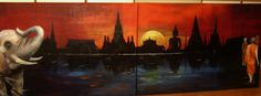 Painting, Art, Abstract, Art Background, Painting Art, Kunst, Paintings, Performing Arts, Painted Canvas