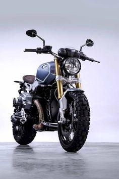bmw scrambler r nine t ; bmw scrambler r nine t custom ; Bmw Scrambler, R Nine T Scrambler, Motorcycle Design, Motorcycle Outfit, Motorcycle Bike, Motos Retro, Gp Moto, Moto Bike, Retro Bikes