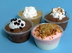 Adult Pudding Shots (10 Assorted) Recipe | Just A Pinch Recipes