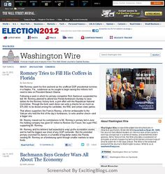 Washington Wire - WSJ - Click to visit site:  http://1.33x.us/HXcr3n