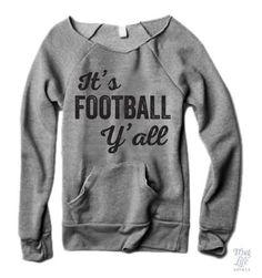 It's football y'all!