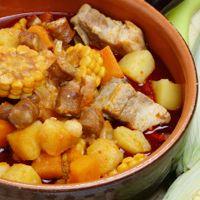 Ajiaco Cubano Recipe Hearty Cuban Meat Chicken Stew Soup