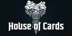 House Of Cards font download