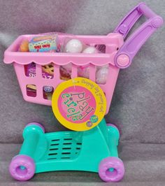 Description: PlayCircle Shopping Day Grocery Cart 30 Pieces Ages 3 And Up/   Item ID: 53 TARGET
