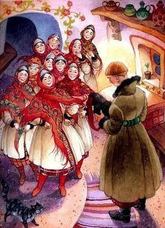 ілюстрації Ольги Йонайтіс