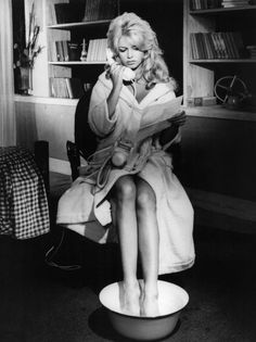 November 7, 1960 - The Cut PAMPERING MY FEET AND DOING MY PEDICURE IN THE AFTERNOON IN MY BATHROBE, AND CALLING PEEPS IF I WANT TO, AND TAKING CARE OF BUSINESS IF I WANT TO. A LOVELY, PAMPERING, DELICIOUSLY PRODUCTIVE AFTERNOON.