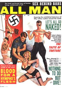 'All Man' (1962) cover art by Milton Luros.