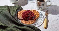 A tökéletes zabpalacsinta gyümölcsraguval recept | Street Kitchen Pancakes, Paleo, Breakfast, Food, Morning Coffee, Eten, Beach Wrap, Meals, Pancake